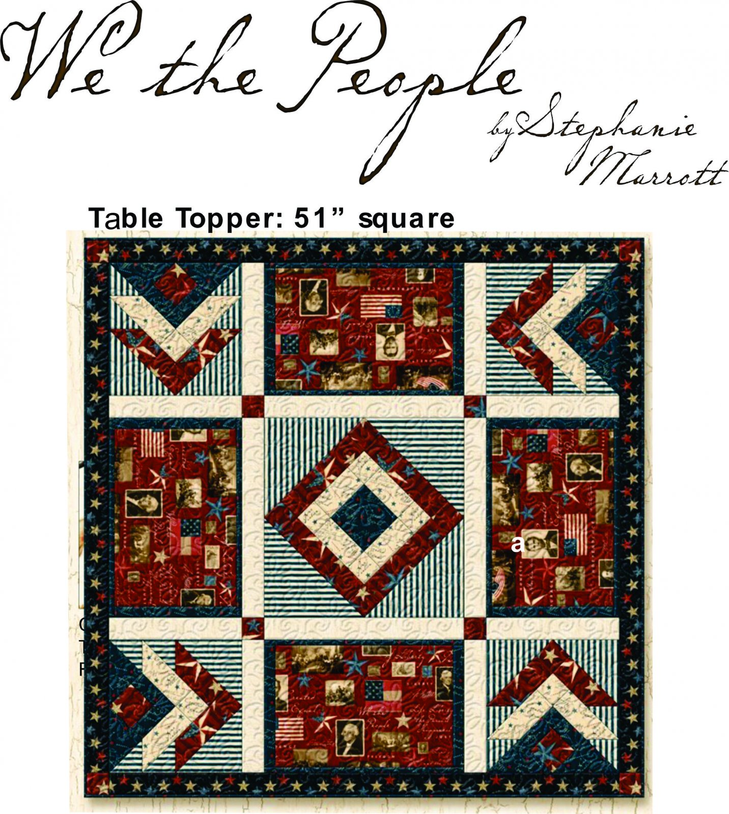 We The People Table Topper