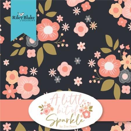 A Little Bit of Sparkle - 10 Squares 42pcs
