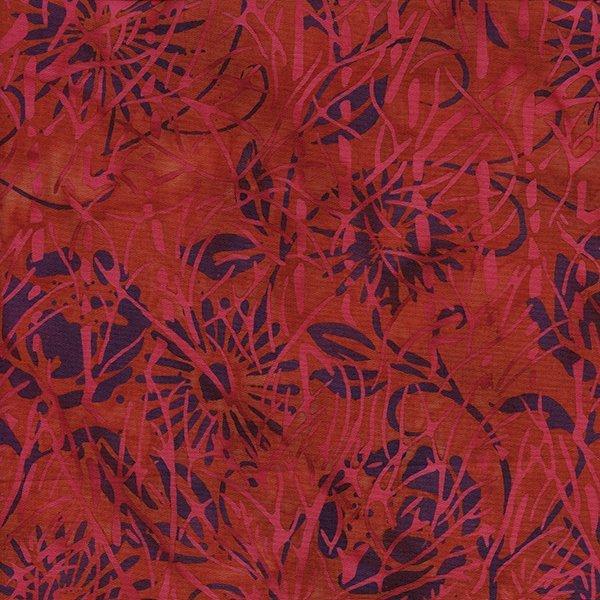 Twigs Branches Batik * Purple/Red/Fuchsia