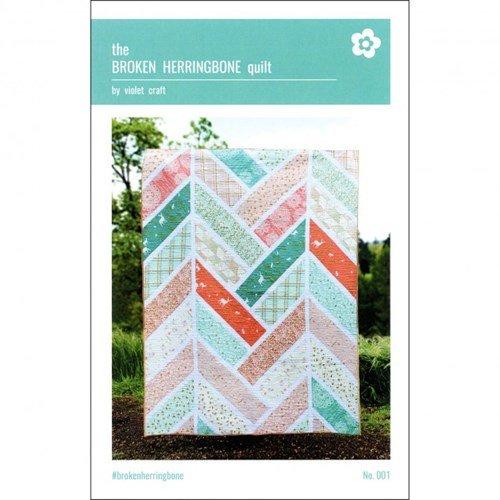 The Broken Herringbone Quilt - Kit
