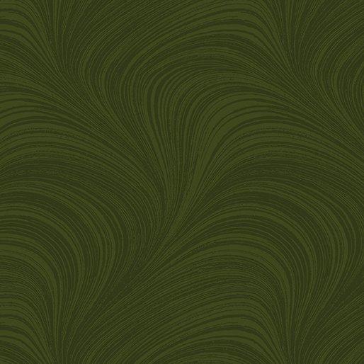 Pearlescent Wave Texture - Dark Green