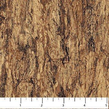 Woodland 100% Cotton~Brown
