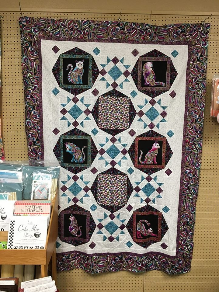 Cool Cats or Cool Dogs Throw Quilt Kit
