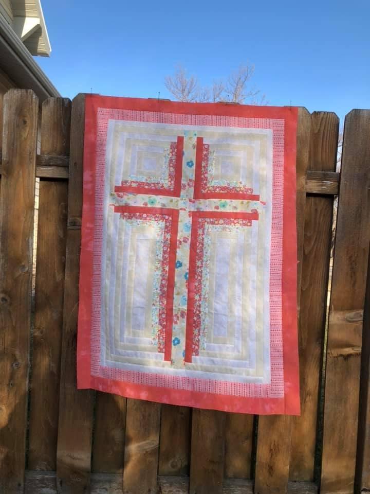 Christian Cross III Kit Coral