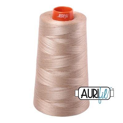Aurifil 50wt 6452yd Cone A6050-2326 - Sand