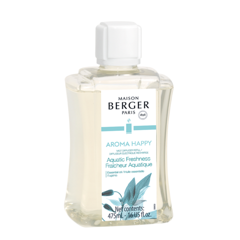 Aroma Happy Mist Diffuser Fragrance- Aquatic Freshness 475ml - 16 oz