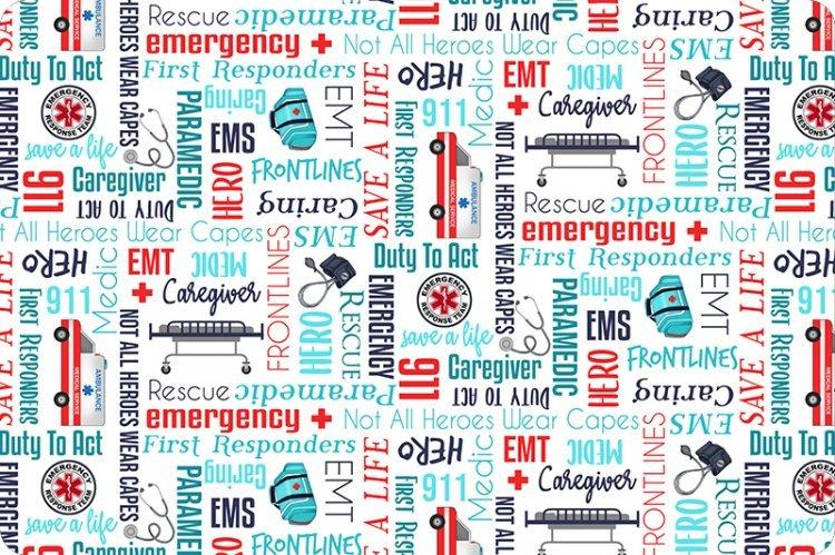 Paramedic Digital 60 Cuddle - Scarlet