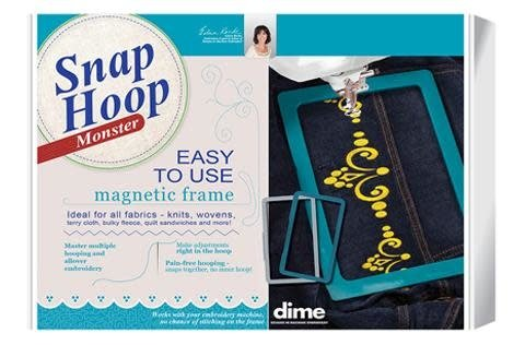 Monster Snap Hoop 8 X 8 Janome