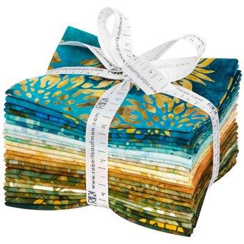 Artisan Batiks: Summer Flowers Fat Quarter Bundle 24pc