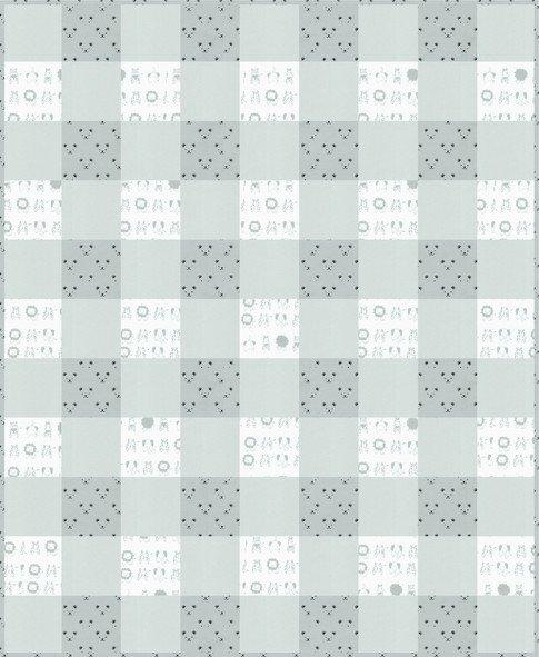 Grey Cozy Plaid Kit