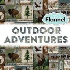 Outdoor Adventure Rag Quilt Kit