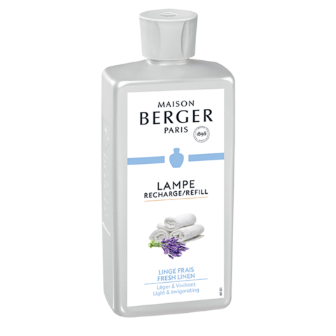 Fresh Linen Lamp Fragrance 500 ml - 16.9 oz