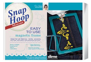 Monster Snap Hoop 8 x 12 Janome