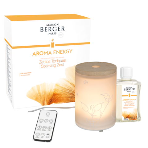 Aroma Energy Mist Diffuser- Sparkling Zest