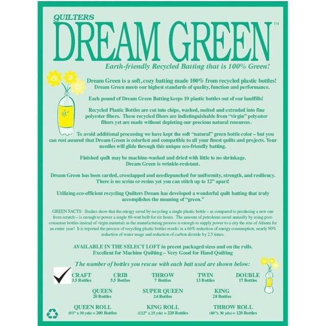 Dream Green 60 x 46 Craft