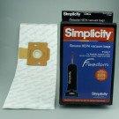 F Hi-Flow Hepa Bags - Simplicity Freedom  6pk