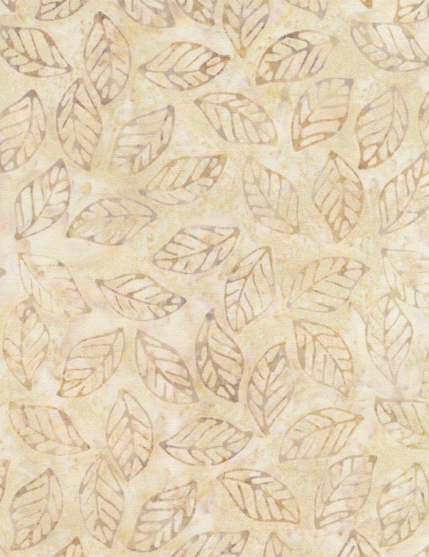 Tonga B2004 Beige Tossed Leaves