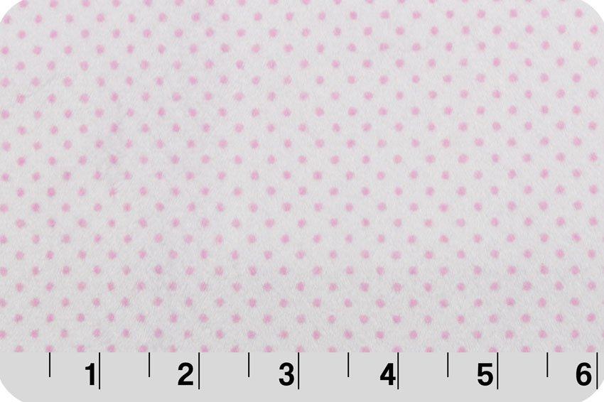 Cuddle - Pin Dot - Pink/Snow