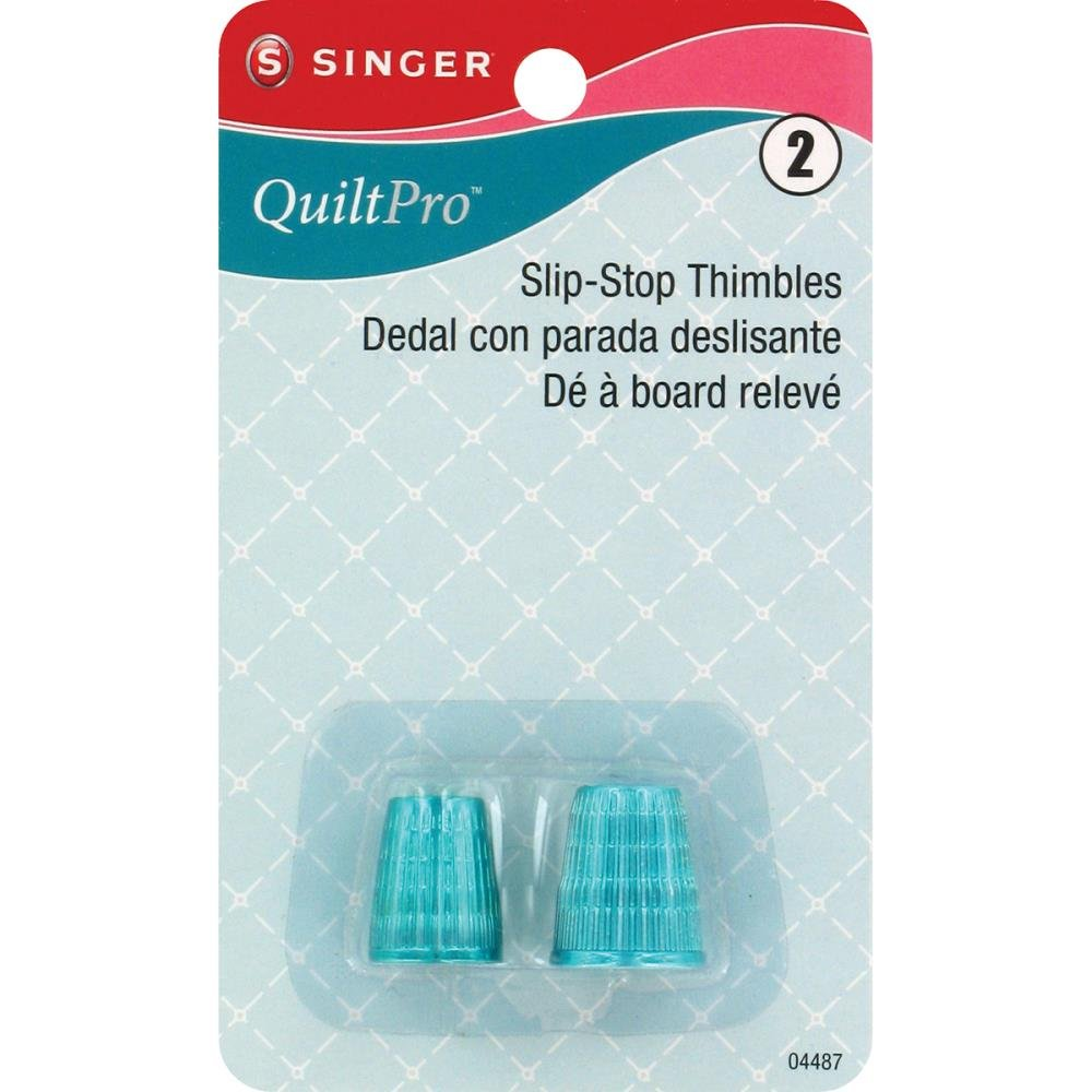 Notions Thimbles Singer QuiltPro Slip-Stop Thimbles