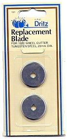 Dritz 28mm Rotary Replacement Blades 2 per package