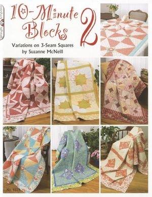 Designs Originals 10 Minute Blocks 2   ( #5374)   Paperback by Suzanne McNeill