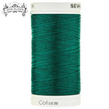 Sew-Ology Poly Embroidery Thread 600 yds/548m Jade Green # 1838