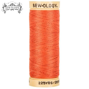 Sew-Ology 100% Cotton Thread 225 yd/205m Salmon #4636