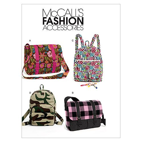 BACKPACKS/BAG PATTERN by Mcall's 6410
