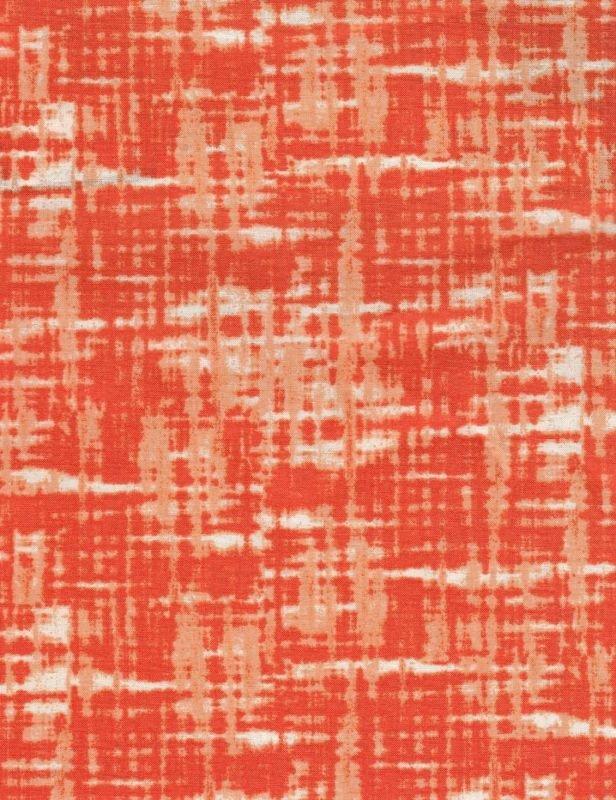 Fabric Cotton Troy Riverwoods Go Team Orange Dark Linen 1591-1 by Karen Combs 43/44'' 100% Cotton