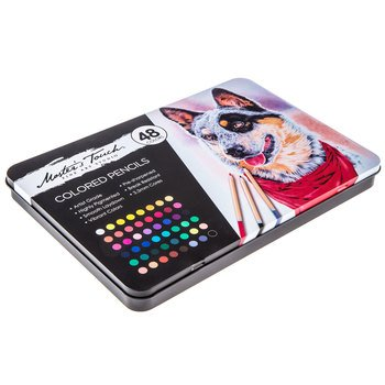 Master's Touch Fine Art Studio Colored Pencils - 48 Colors