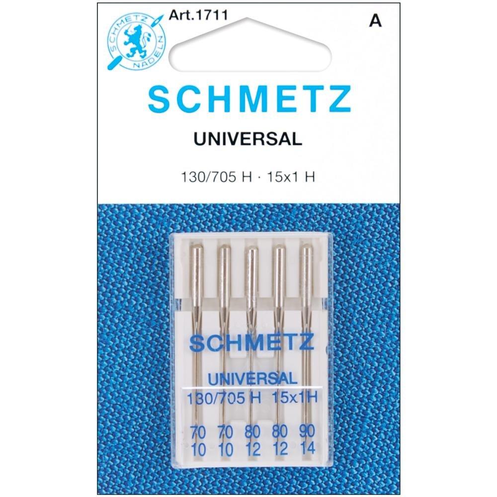 Neeldes Schmetz Universal Sewing Machine Needles 5 pack Assortment