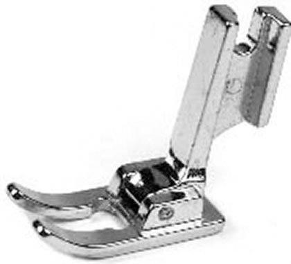 Sewing Machine FOOT Embroidery Open Toe High Shank Metal
