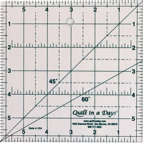 6x6 in Square Up Ruler Quilt in a Day