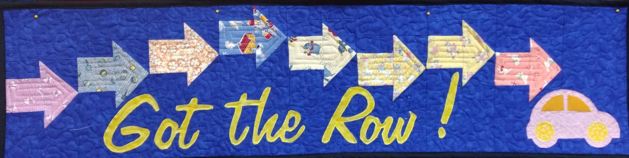 Row by Row Kit 2017 9th Row Got the Row 30's Fabrics