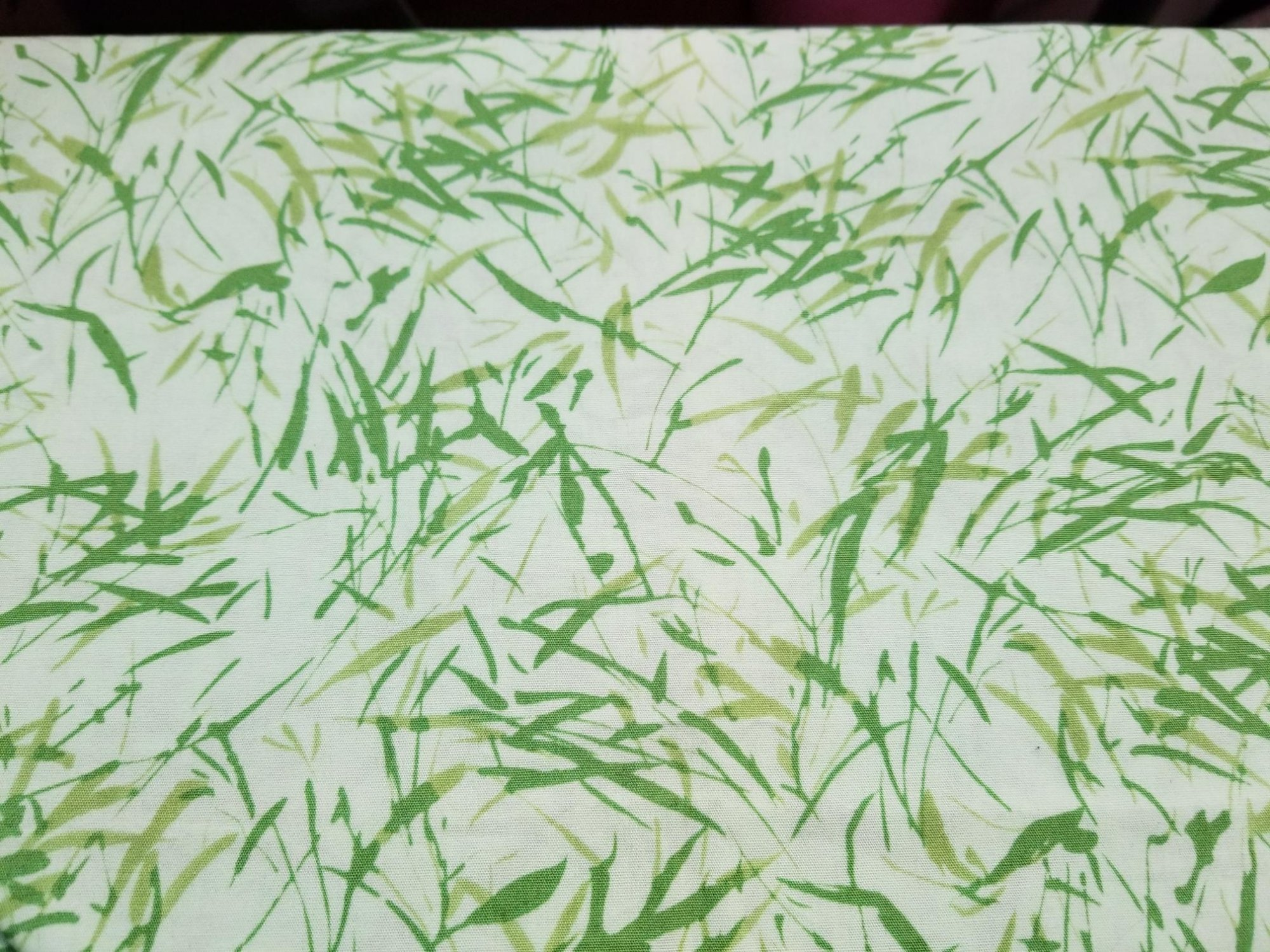 Fabric 100% Cotton Grass for Landscaping