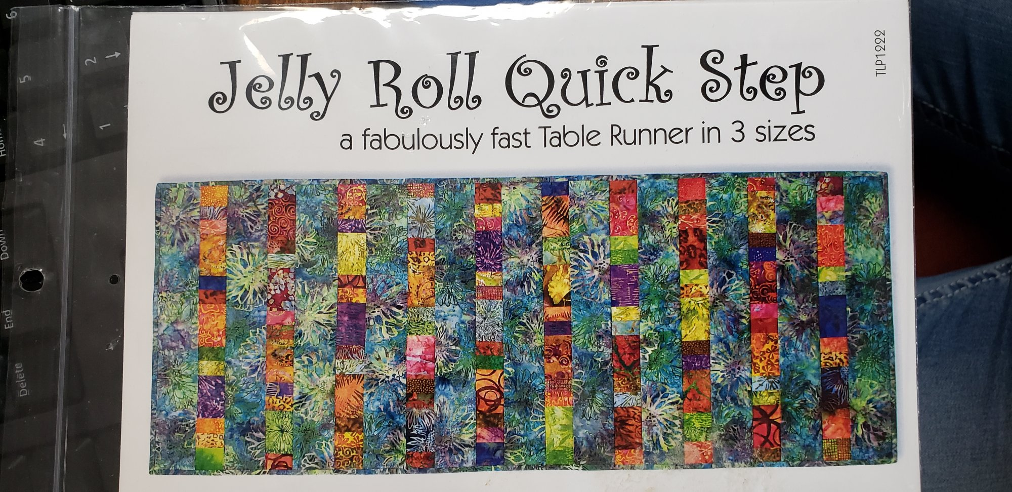 Jelly Roll Quick Step a Fabulously Fast Table Runner in 3 Sizes