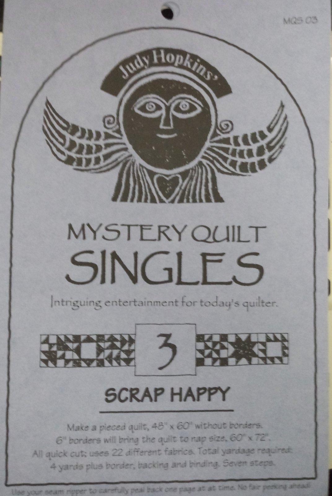 Pattern Mystery Quilt Singles Scrap Happy