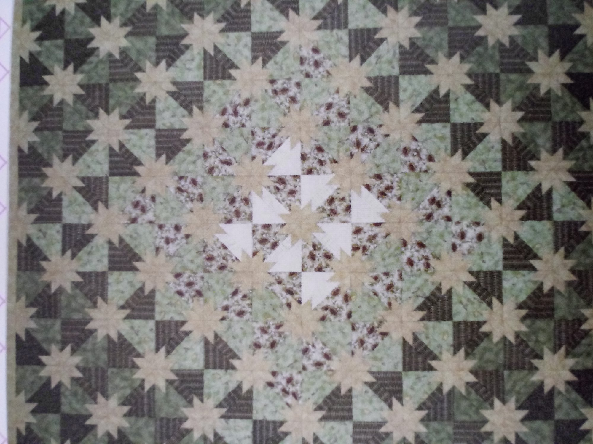 Pattern Star Flowers by Jackie's Animas Quilts Publishing