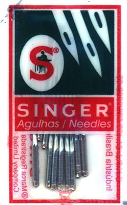 Singer Sewing Machine Needles Ball Point 70/09 ten per package