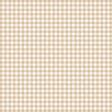 Sorbets GINGHAM LT TAUPE 23691-A