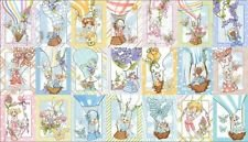 Quilting Treasures Loralie-Hot-Air-Balloon-Fabric-Lady-Girl-Up-Away