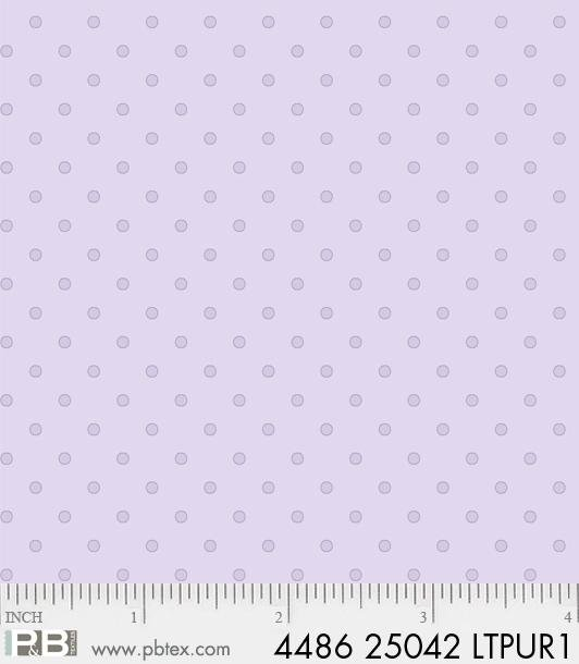 P&B Basically Hugs 100% Cotton - Light Purple #25042