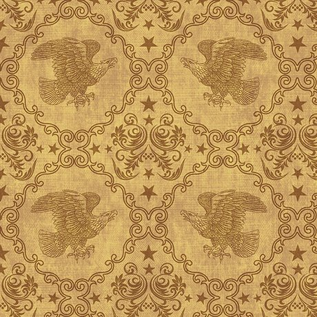 Quilting Treasures STARS & STRIPES FOREVER EAGLE MEDALLION TOILE  43/44'' 100% Cotton