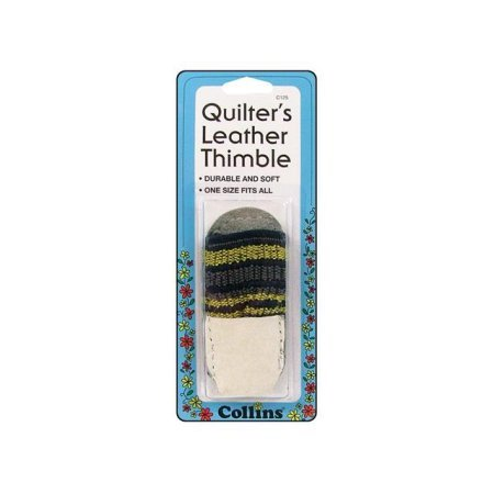 Collins Quilter's Leather Thimble
