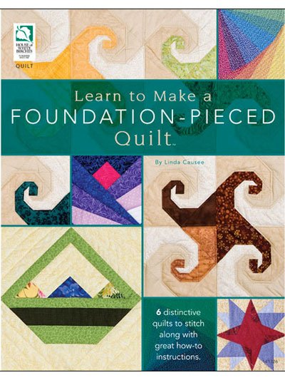 Learn to Make a Foundation-Pieced Quilt House of White Birches
