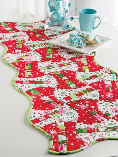 Quilted Curves & Strips With the AccuQuilt GO! House of White Birches Quilt Book