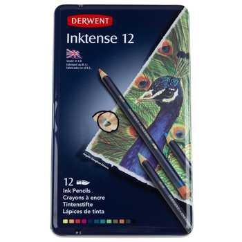 Derwent Inktense Pencils - 12 Piece Set