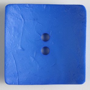 Dill Buttons 410143 Square 60mm (1.75 inch) large square nesting polyamid buttons color royal blue