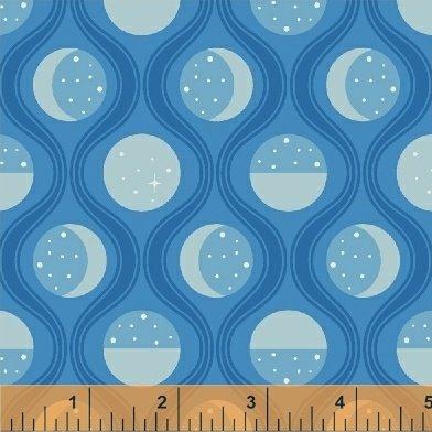 Fat Quarter Luna Sol 41878-1 Lunar Tide Interstellar by Felice Regina for Windham