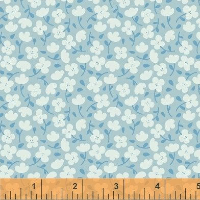 Fabric Cotton Luna Sol 41881 Moon Flowers Twinkle by Felice Regina for Windham